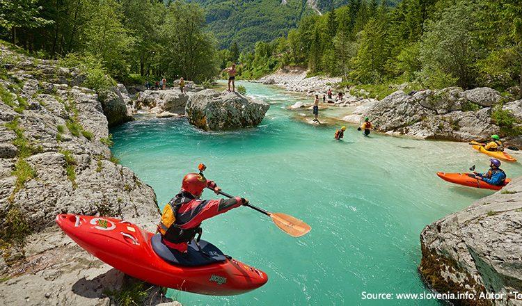 Slovenia-prestige-slideshow-Kayak on Soca river